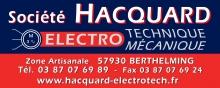 Société HACQUARD: Entreprise d'électricité Entreprise electromécanique electrotechnique